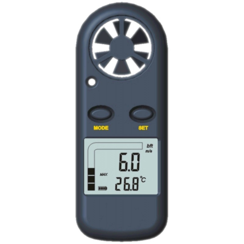 Anémomètre / Thermomètre digital de poche