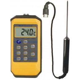 Thermomètre  sonde 10 mémoires - Etanche IP65 - Sonde amovible