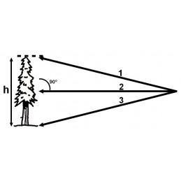 Télémètre laser - Portée 200m