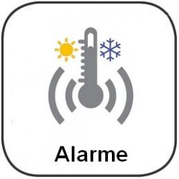 Thermomètre infrarouge, double visée laser - Jusquà 650°C - Alarme t°