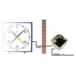 Compte secondes cruciforme - Dim : 650x650 mm