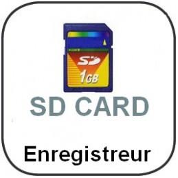 Enregistreur thermomètre 3 canaux type K + carte SD + 3 sondes filaires type K
