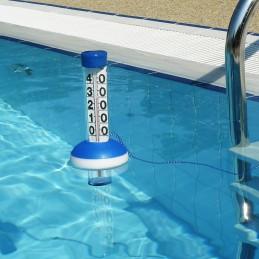 Thermomètre géant de piscine