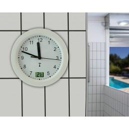 Horloge étanche diam 170mm – Thermomètre