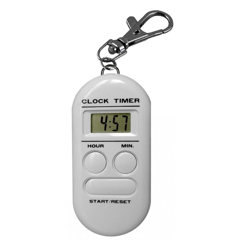 Minuteur - Compteur - Décompteur 10 h - Mousqueton