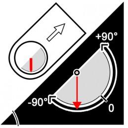 Boussole professionnelle - Prisme de visée - Clinomètre