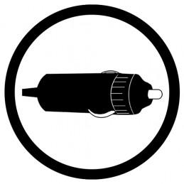 Compresseur – Alimentation secteur / allume-cigare