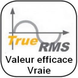 Pince ampèremétrique jusqu'à 1500A - True RMS - Wattmètre - Détection tension sans contact
