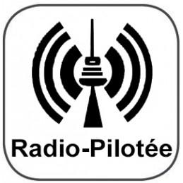 Horloge ABS - Radio-pilotée - Verre minéral - Diam 300mm