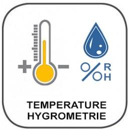 Thermomètre - Infrarouge - type K - Hygromètre - Psychromètre