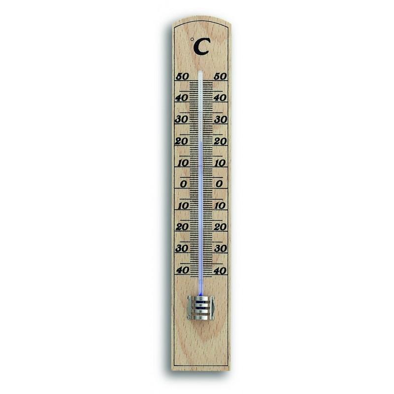 Thermomètre classique en bois