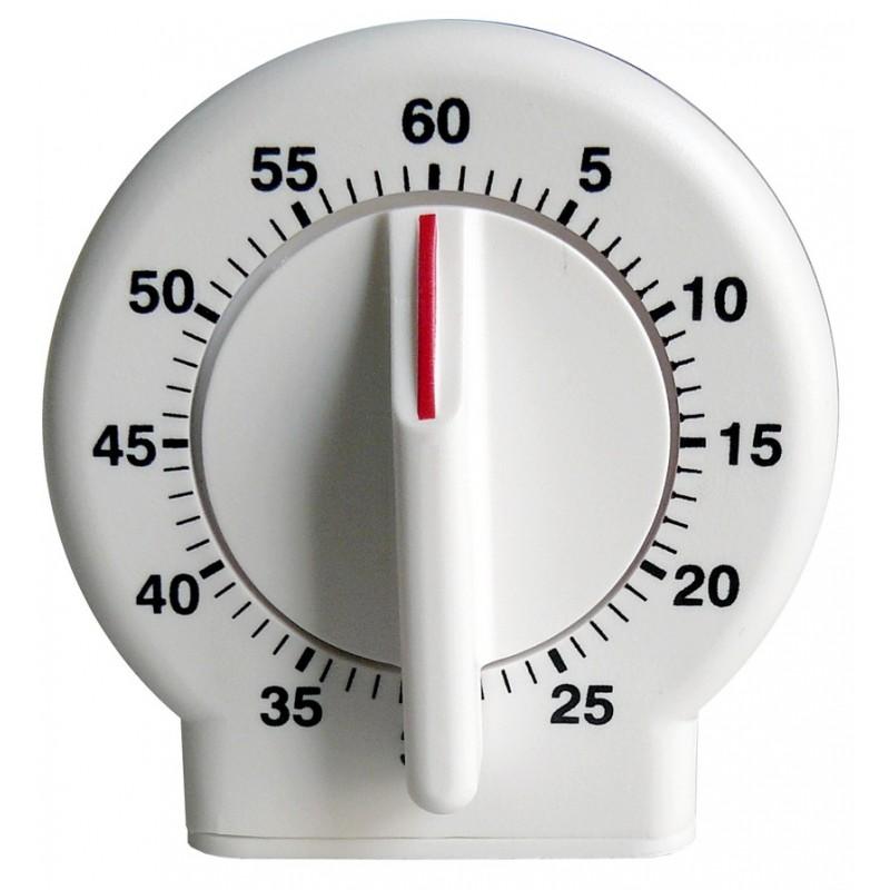 Minuteur mécanique 60 mn - Aimant