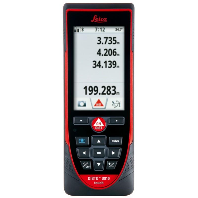 Télémètre laser - Porte 200m - Tactile et connexion Bluetooth