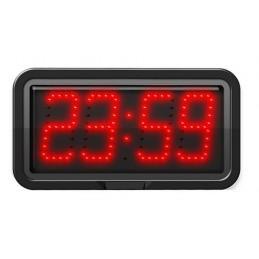 Horloge à diodes Heures/minutes et date - Chiffres 10 cm