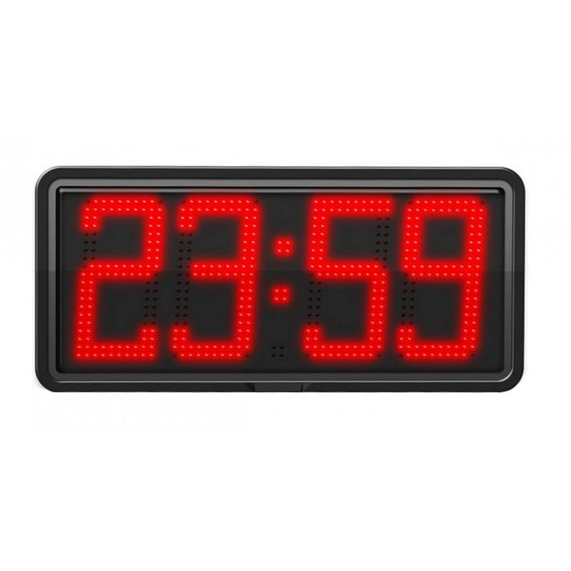 Horloge à diodes Heures/minutes et date - Chiffres 20 cm