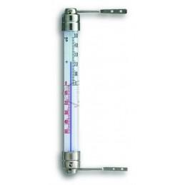 Thermomètre extérieur de fenêtre - Fixations alu