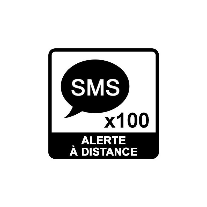 Crédit 100 SMS d'alerte pour 176BL ou 177BL