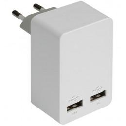 Adaptateur secteur / 2 USB