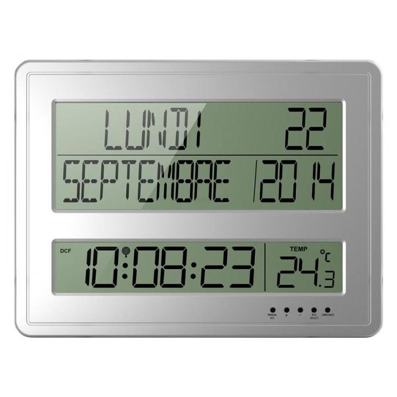 Calendrier Digital.Horloge Calendrier Digital En Francais
