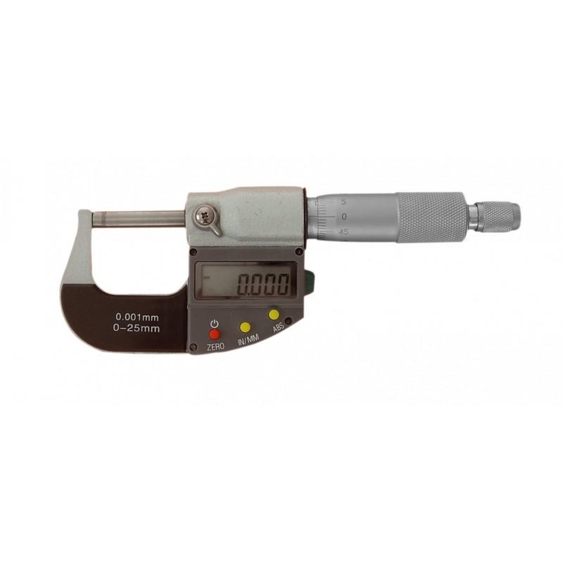 Micromètre digital 0-25mm au 1/1000è