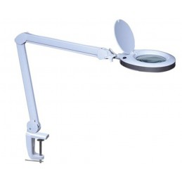 Lampe loupe LED 8 dioptries - 8 W - 80 LEDs - blanc
