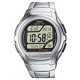 Montre Casio digitale radio-pilotée - Bracelet métal