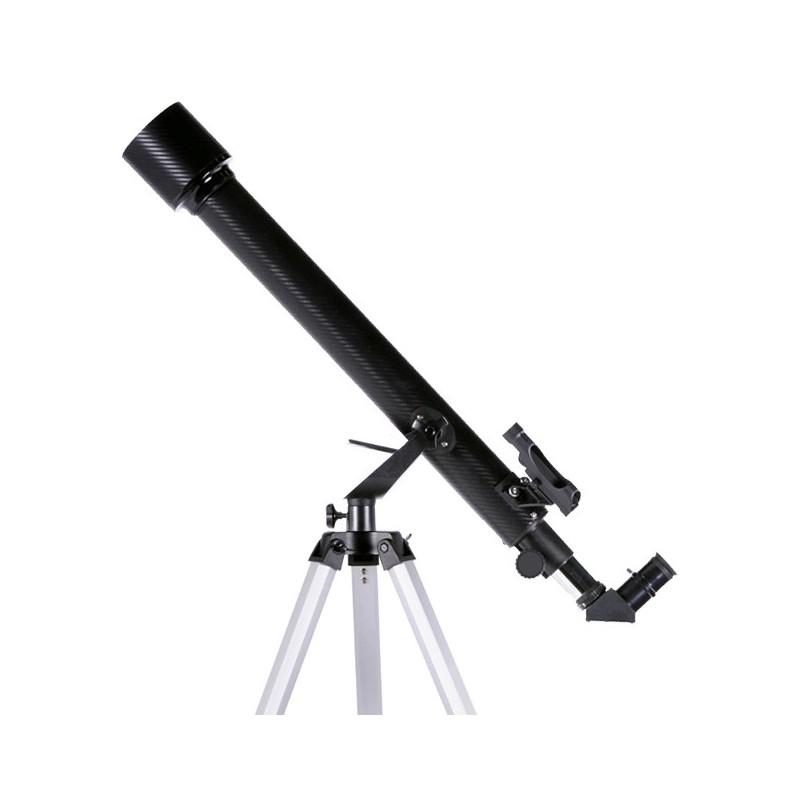 Lunette astronomique - Grossissements 35X, 525X