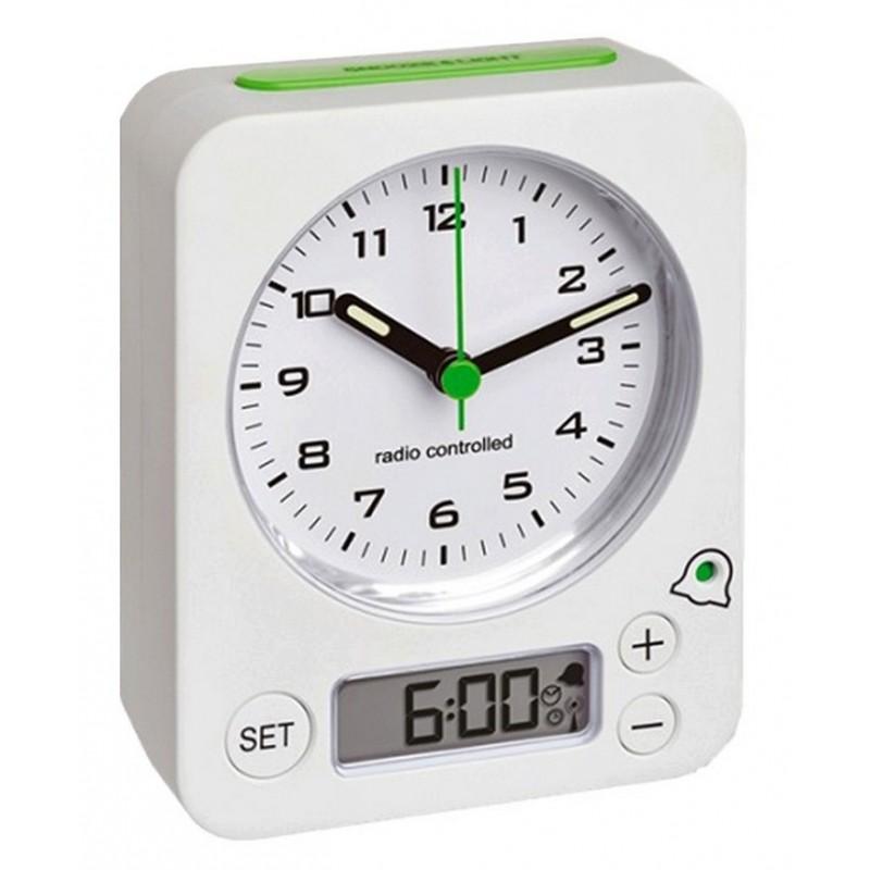 Réveil analogique - Indication alarme digitale