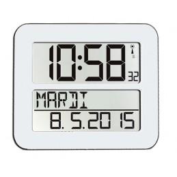 Horloge digitale radio-pilotée  - Coloris noir