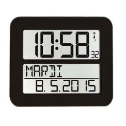 Horloge digitale radio-pilotée  - Coloris blanc