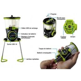 Lanterne rechargeable par USB