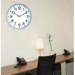 Horloge ABS - Verre plexi - Diam 400mm