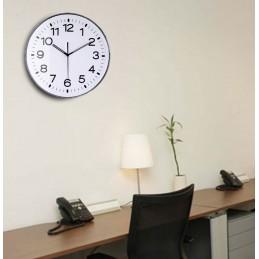 Horloge ABS - Verre plexi - Diam 300mm