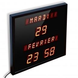 Horloge/calendrier digitale à diodes