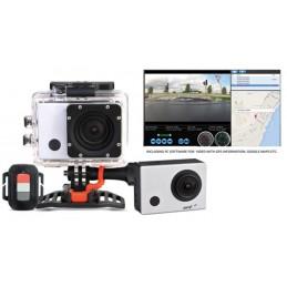 Caméra d'action HD avec GPS et WiFi intégrés