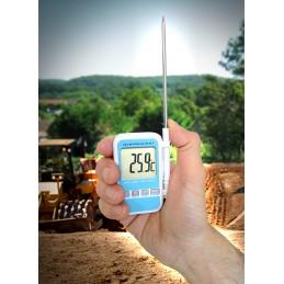 Thermomètre - sonde de poche - Grand affichage - Alarme t°
