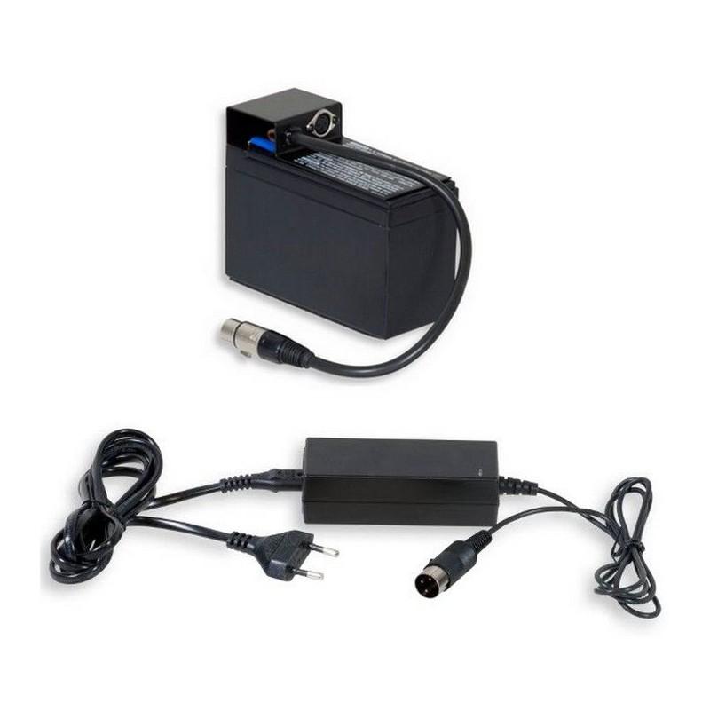 Option batterie 12V + Chargeur pour 160FE