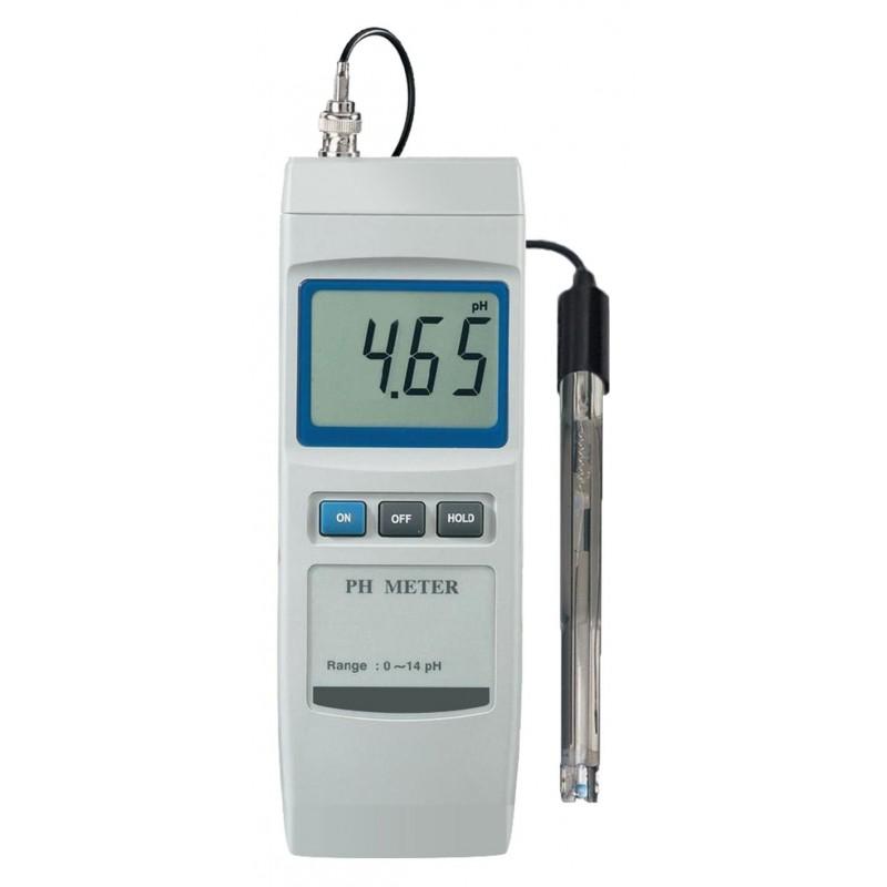 pH-mètre digital avec sonde pour solutions