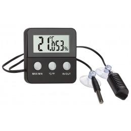 Thermo/hygromètre digital avec sondes déportées