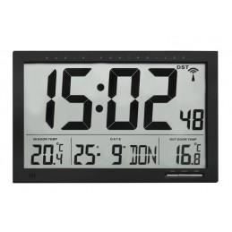 Horloge LCD - Température int/ext - Alarme température