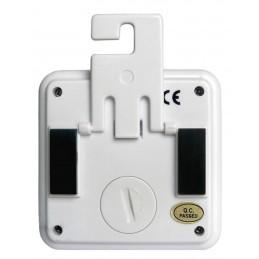Double thermomètre int/ext - Alarme T° - Sonde amovible + Ralentisseur thermique