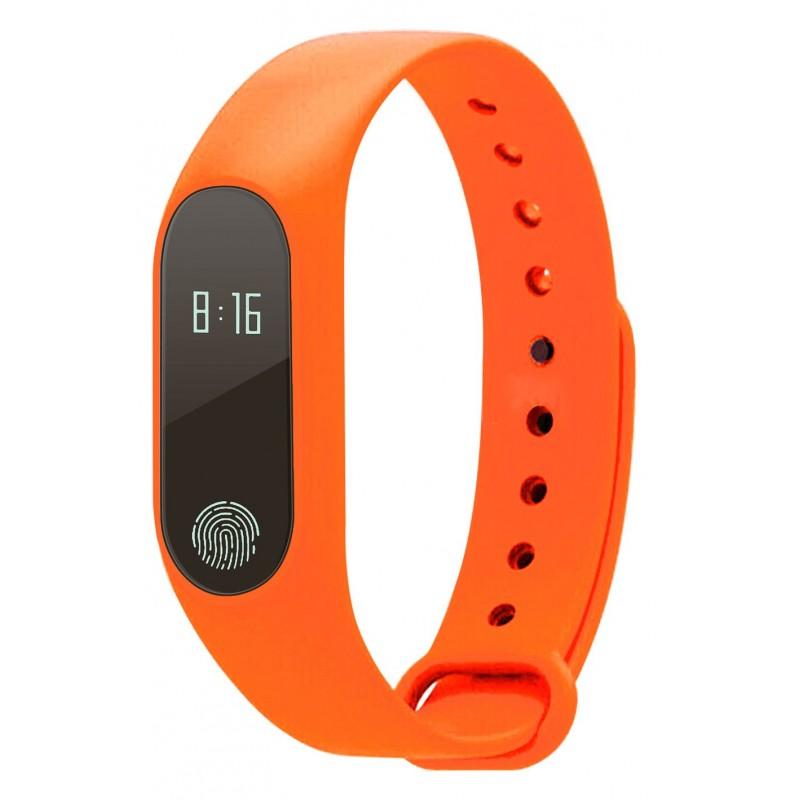 Bracelet connectée - Coloris Orange