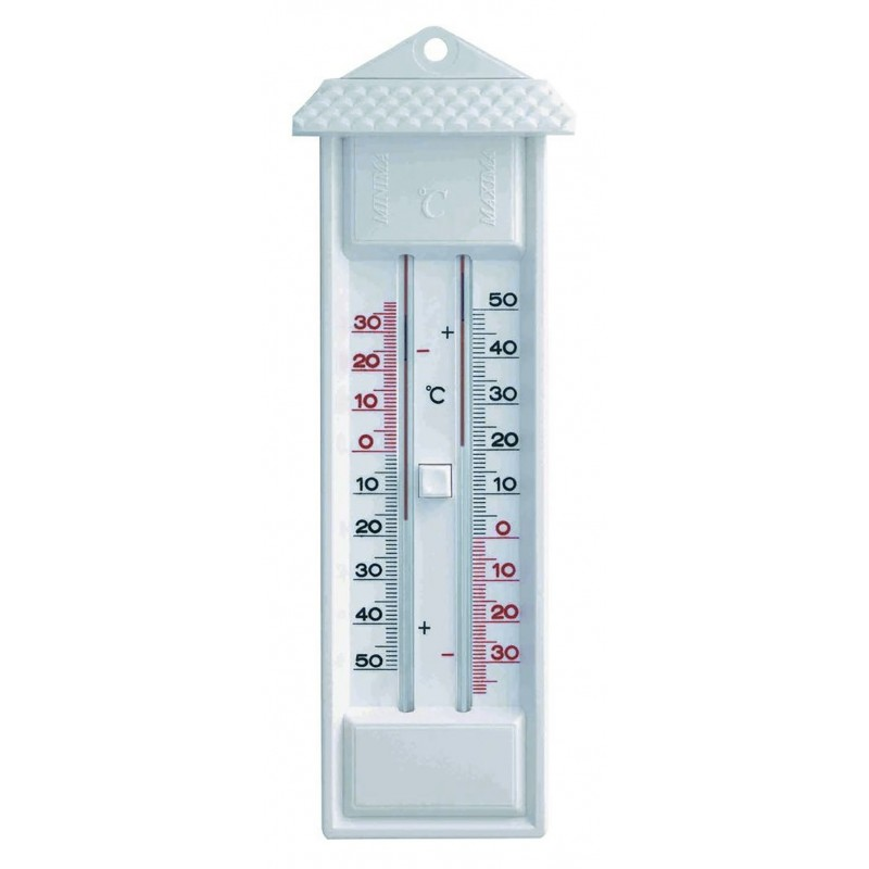Thermomètre minima/maxima en ABS