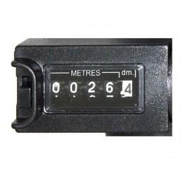 Odomètre mécanique - Manche pliable et frein
