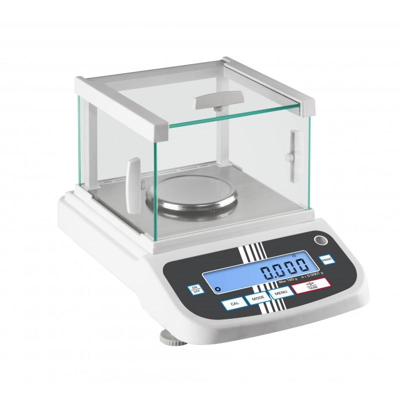 Balances de laboratoire jusqu'à 120 g - Haute résolution à 0,0001 g