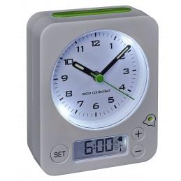 Reveil analogique radio-pilotee - Indication alarme digitale