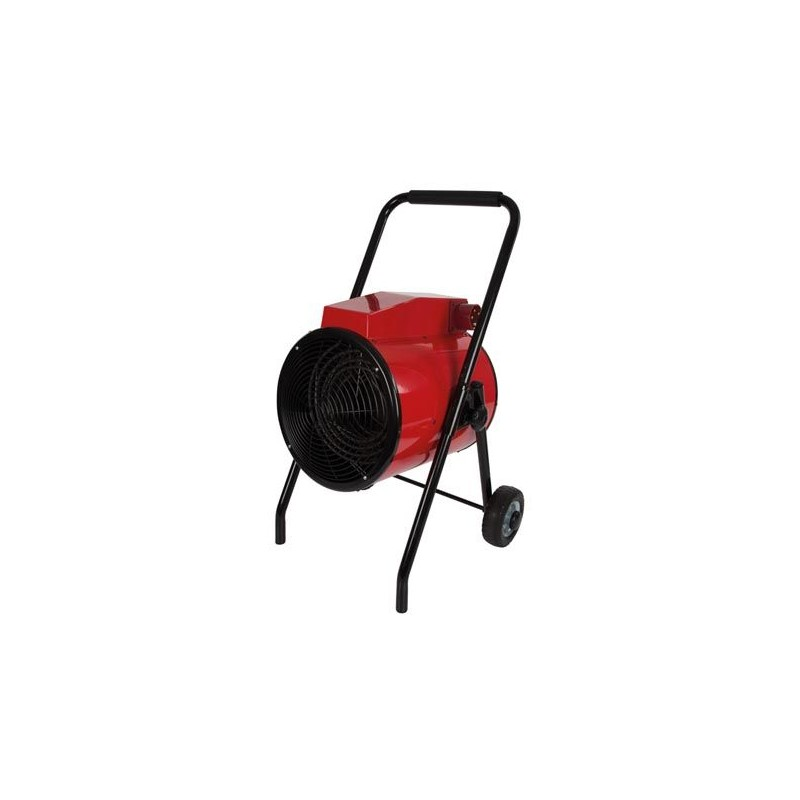 Radiateur / ventilateur industriel - Roues de transport