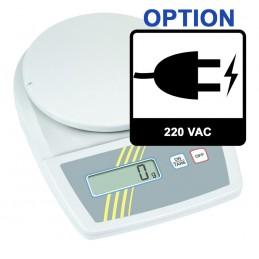 Option alimentation secteur pour balances 208-209-210-211KE