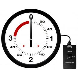 Pendule de boxe anglaise 3 mn + 1 mn, Ø 600mm, NOUVELLE VERSION avec commande filaire
