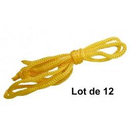 Lot de 12 cordons simples